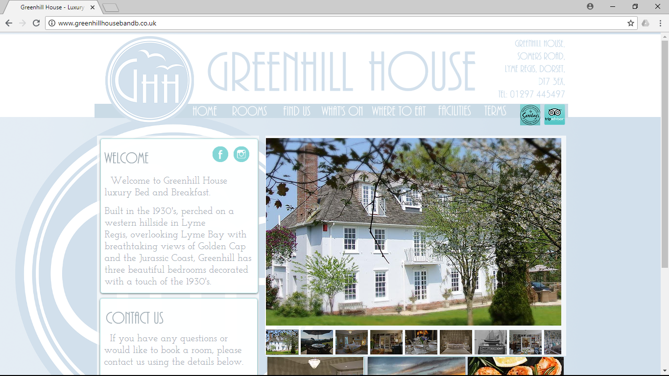 Greenhill House Website