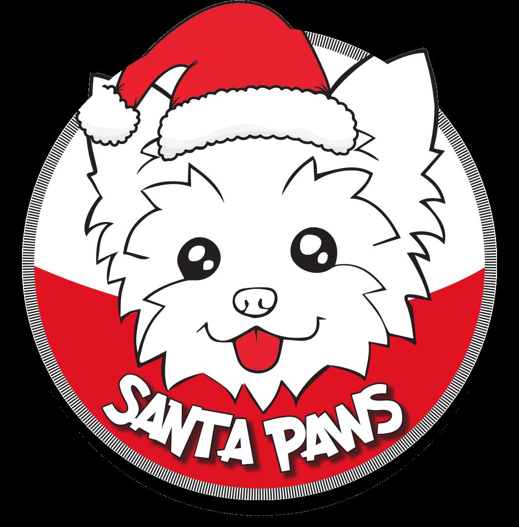 Santa Paws Logo