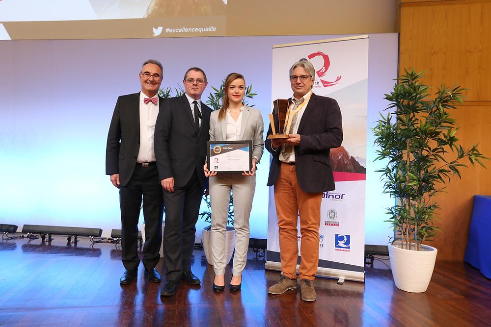 Marion Louail, lauréate du Prix des Etudiants Qualité Performance 2019 [Master], entre au Bureau Exécutif National de France Qualité