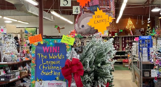 6' Christmas Stocking Raffle!