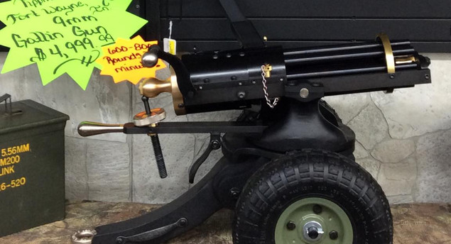 9mm Gatling Gun (SOLD, More on the Way!)