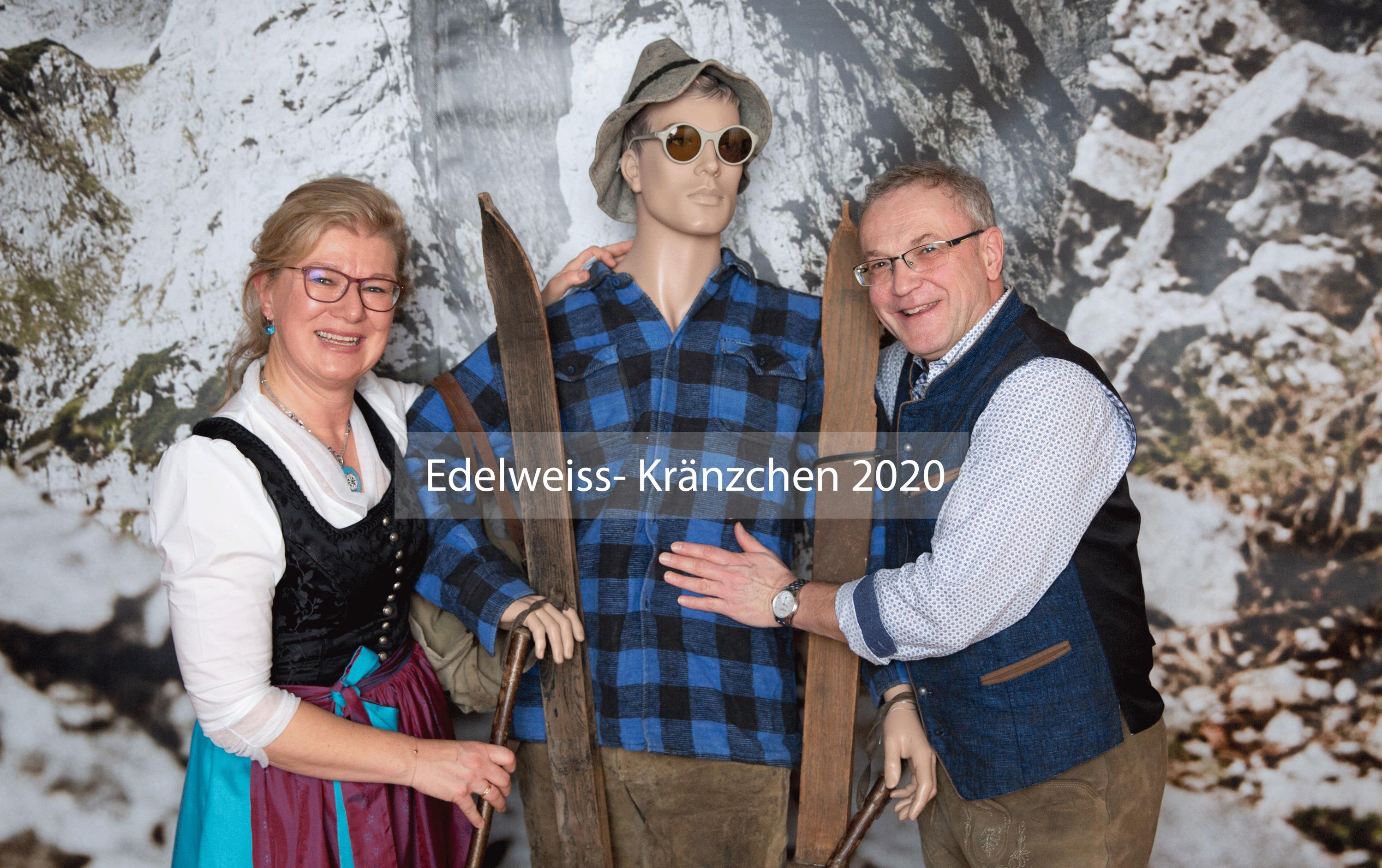 Edelweiss- Kränzchen 2020