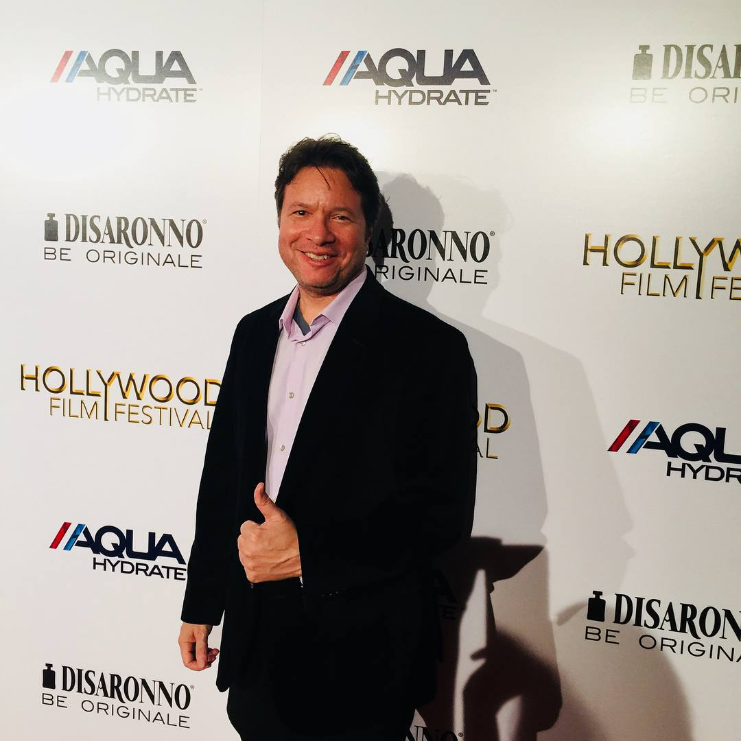 Jeff at In Vino Premiere