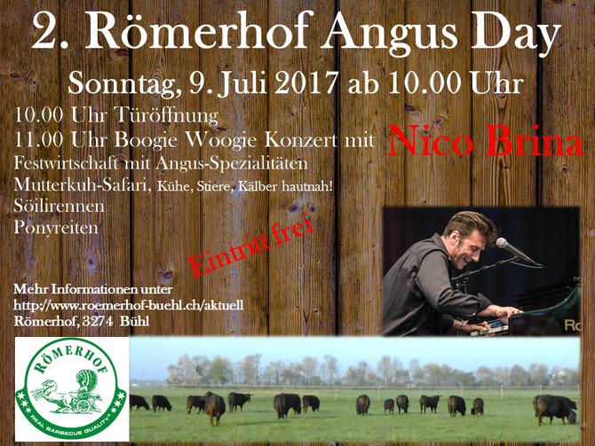 2. Römerhof Angus Day, Sonntag 9. Juli 2017