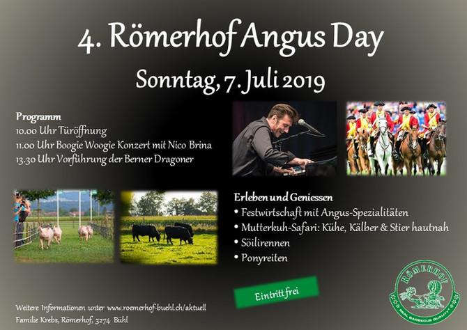 4. Römerhof Angus Day, Sonntag, 7. Juli 2019