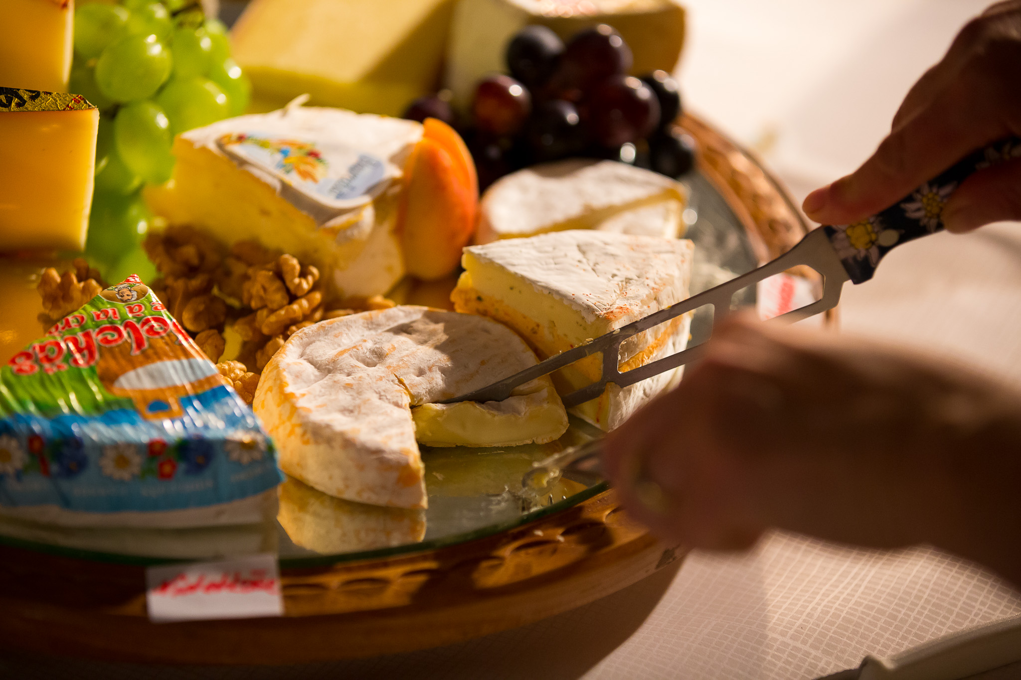käse, apéro auf dem römerhof in bühl