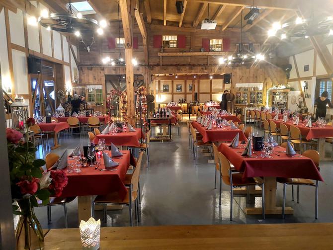Das war der erste Kulinarik Abend auf dem Römerhof