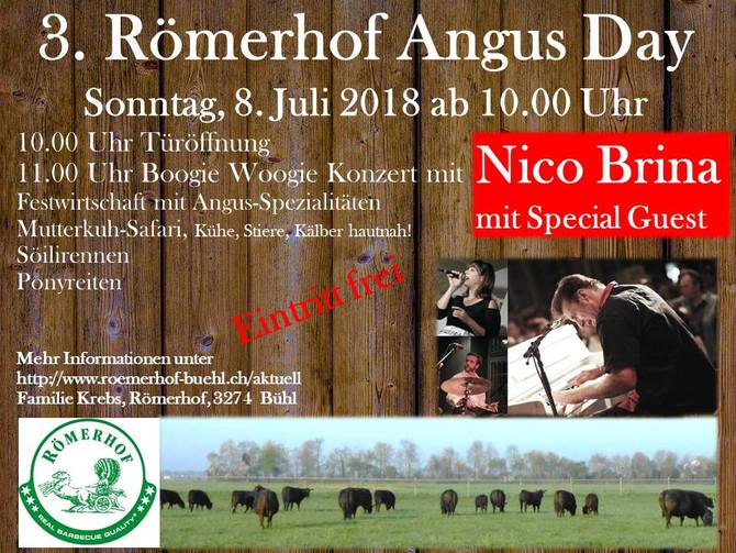 3. Römerhof Angus Day, Sonntag, 8. Juli
