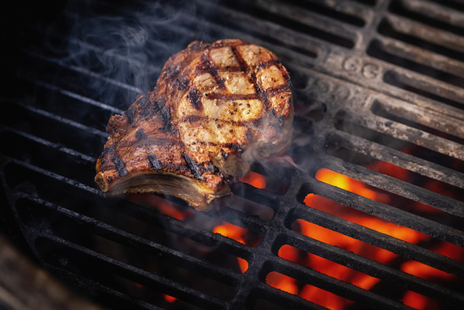 Fleisch vom Freilandschwein