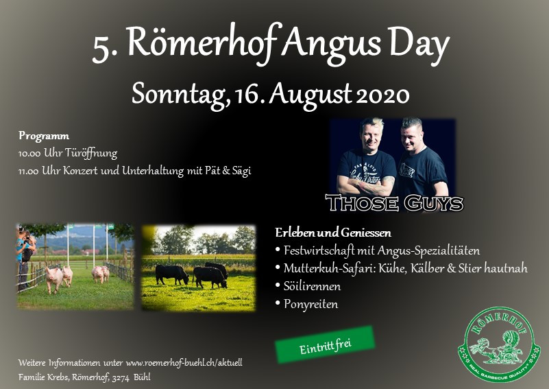 Flyer Angus Day 2020