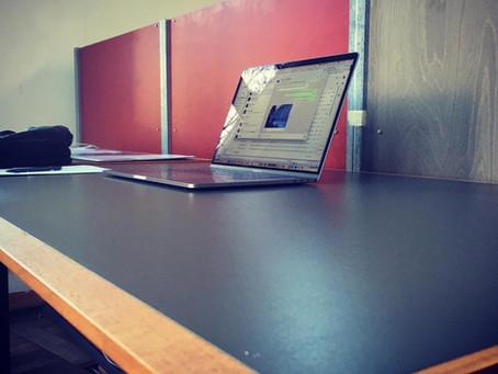 Neues Büro bezogen