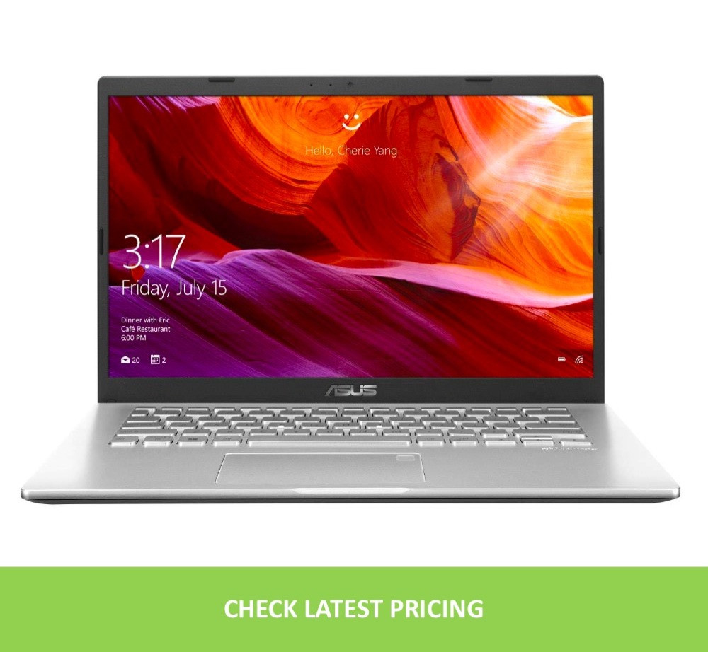 Asus Vivobook 14, with its 14-inch screen size, the ultrabook is considered to have a 6.8% smaller profile in comparison with other models.