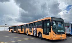 Advertising bus show
