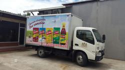 Brandeo camiones (Estructura desmontable)