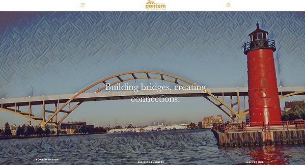 Pontem Website Preview