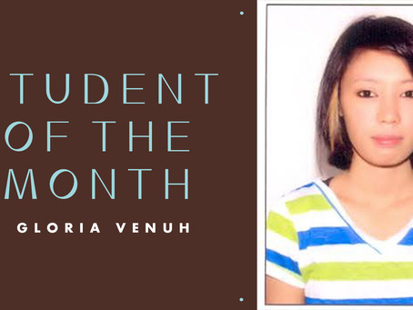 Student of the Month: Gloria Venuh
