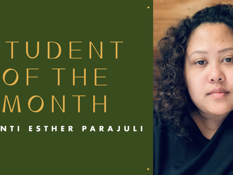 Student of the Month: Shanti Esther Parajuli