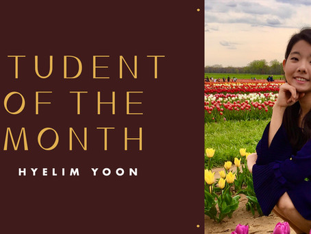 Student of the Month: Hyelim Yoon