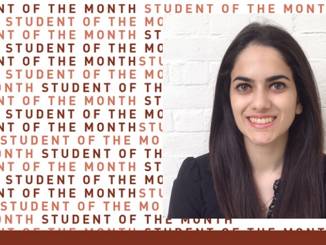 Student of the Month: Haley Gabrielle
