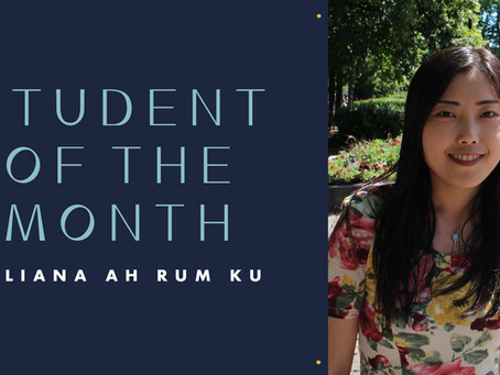Student of the Month: Eliana Ah Rum Ku