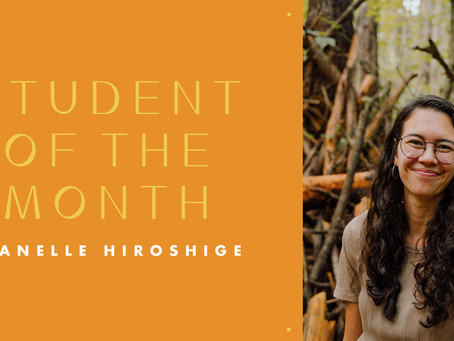 Student of the Month: Janelle Hiroshige