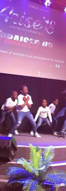 Arise Concert - Edge Dancers Presentation