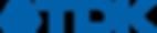 TDK Logo in blue