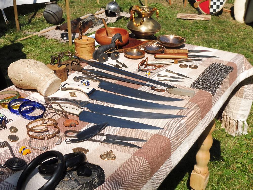 Skvostné předměty rakouských Boii Pannonia. Foto V. Mikešová