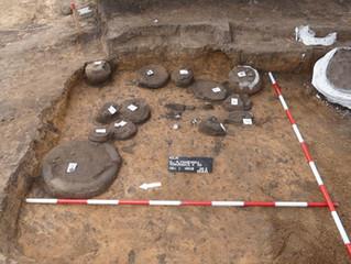 Hrob z doby železné v Kolíně