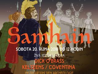 Oslavte podzim na Samhainu mezi Kelty
