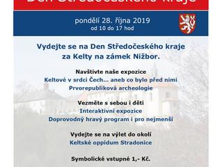 Vydejte se na Den Středočeského kraje za Kelty na zámek Nižbor