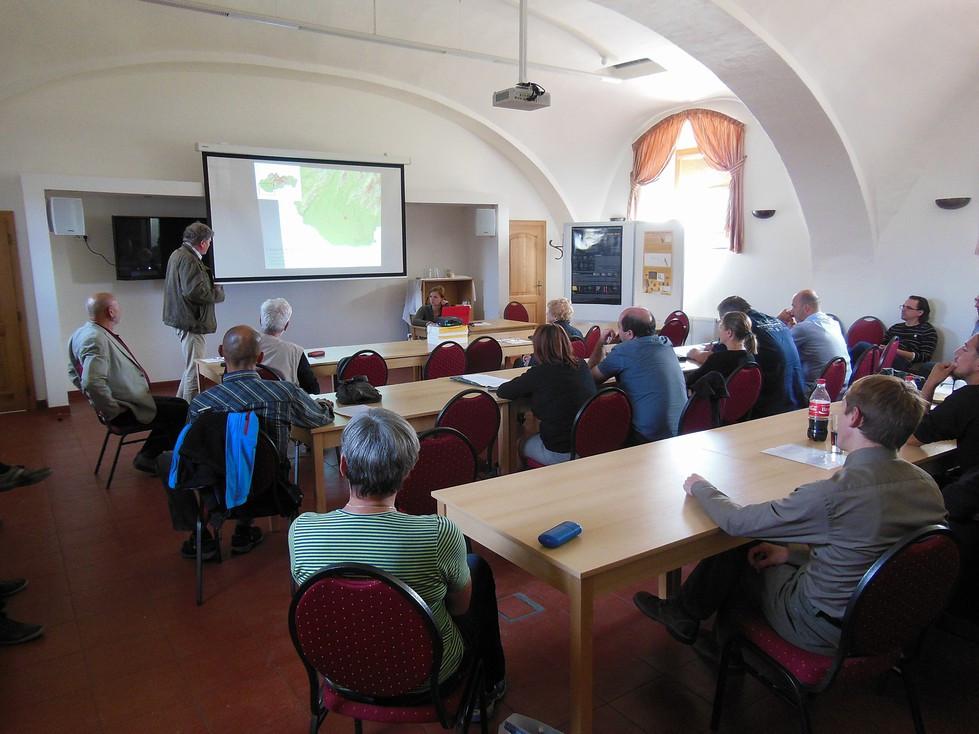 Průběh konference. Foto I. Benková
