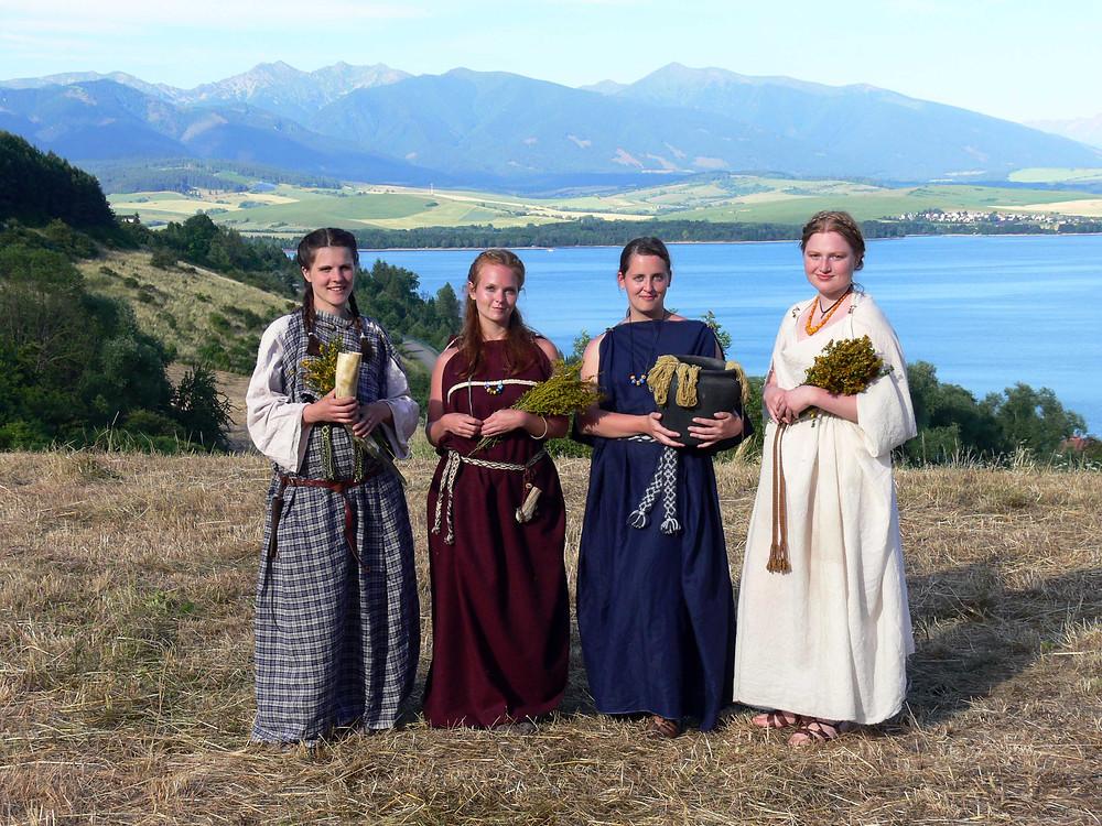 Keltské ženy pod Tatrami. Foto J. Lohnická