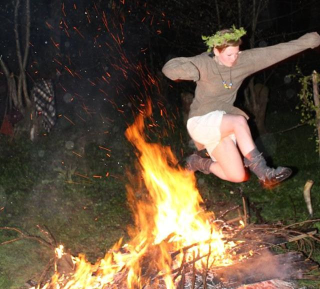 Gwinver nad plameny. Foto T. Lefnerová