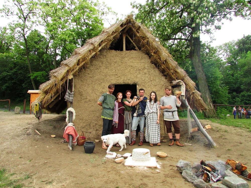 Germánská rodinka. Foto D. Šťastný