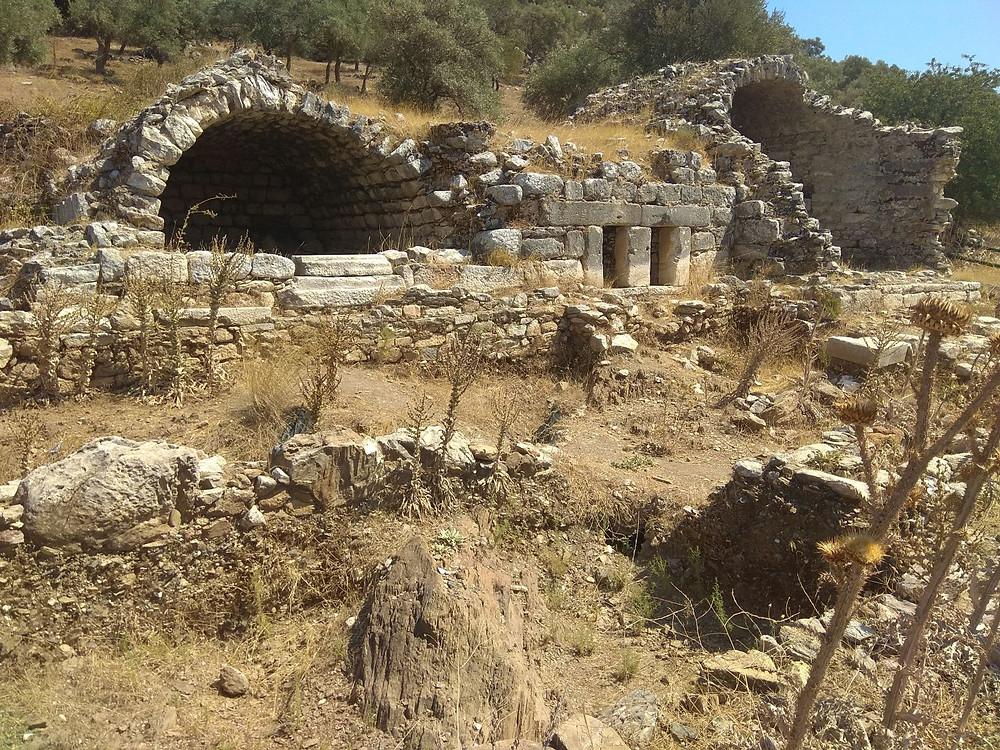 Euromos, hrobky (Turecko)