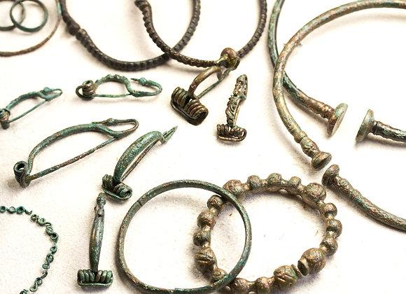 Šperky keltských žen z Pitkovic