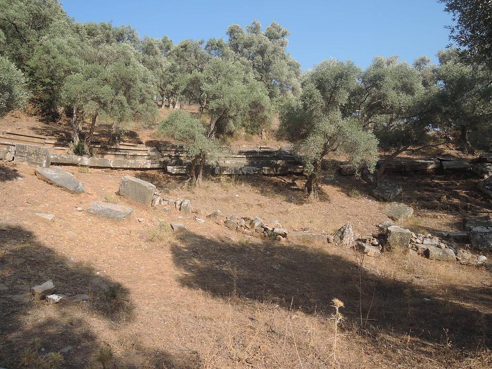 Euromos, divadlo řeckého typu (Turecko)