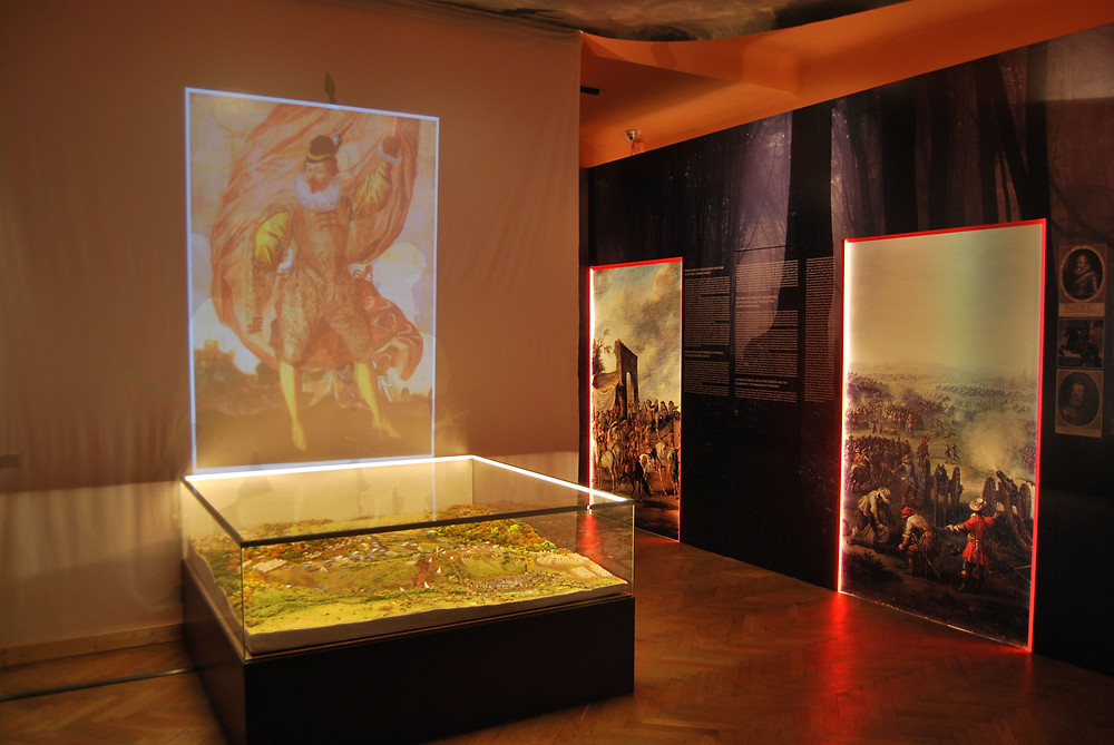 Pohled do výstavy. Foto archiv Muzea T. G. M. Rakovník