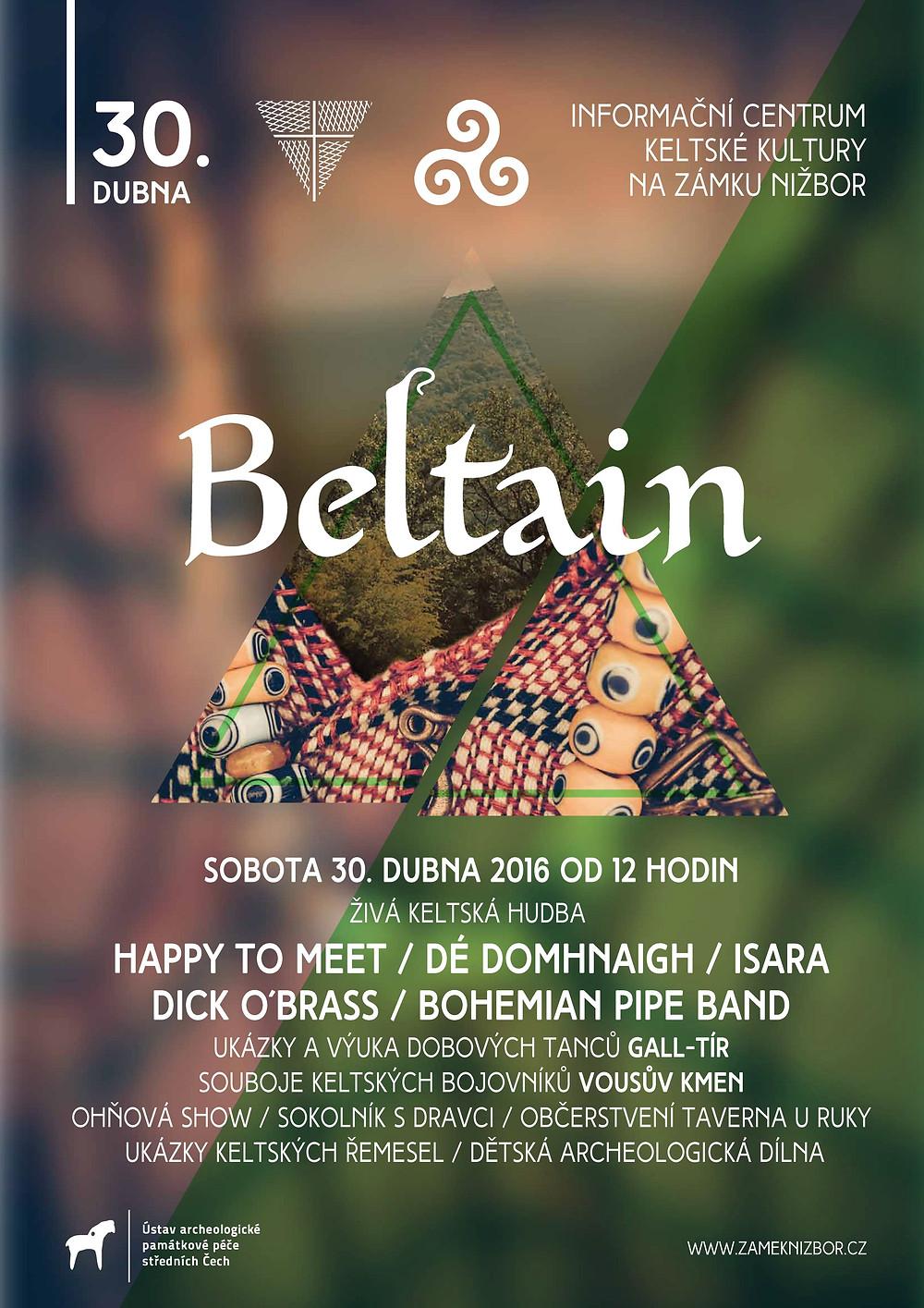 Plakát Beltain 2016