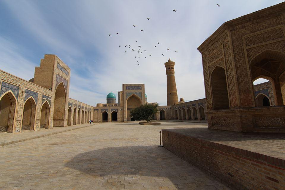 Krása Orientu - Buchara. Foto Č. arch. expedice v Uzbekistánu