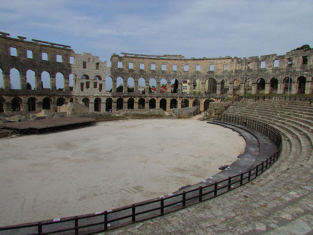 4.Římský amfiteátr v Pule. Foto Z. Beneš