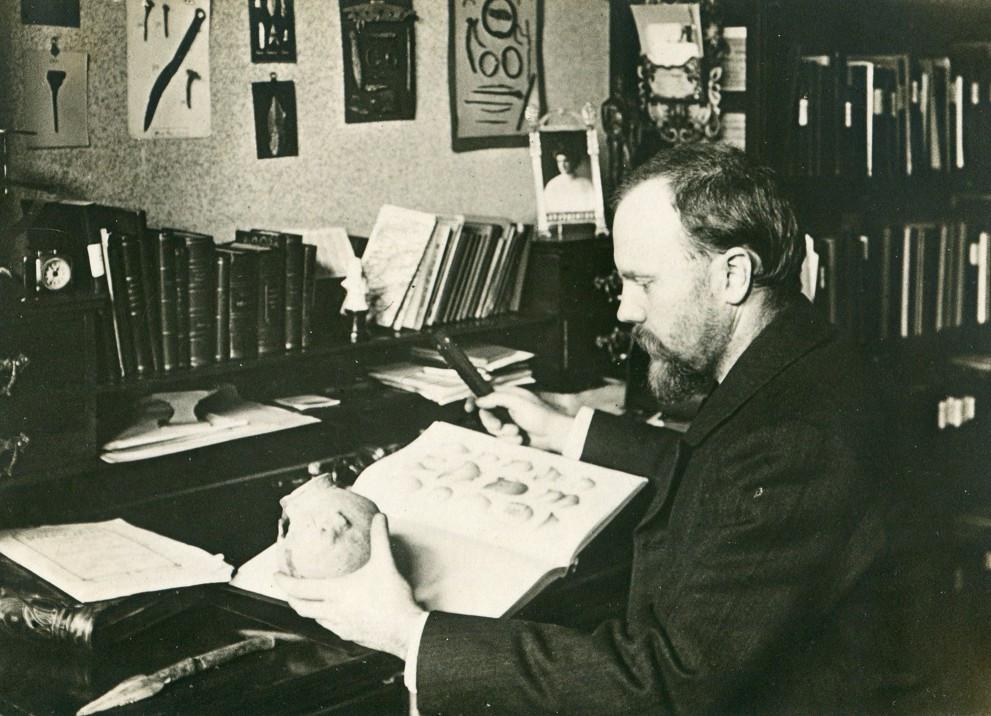 Štorch v době psaní Člověka diluviálního (kolem r. 1907). Zdroj archiv dr. Sklenáře