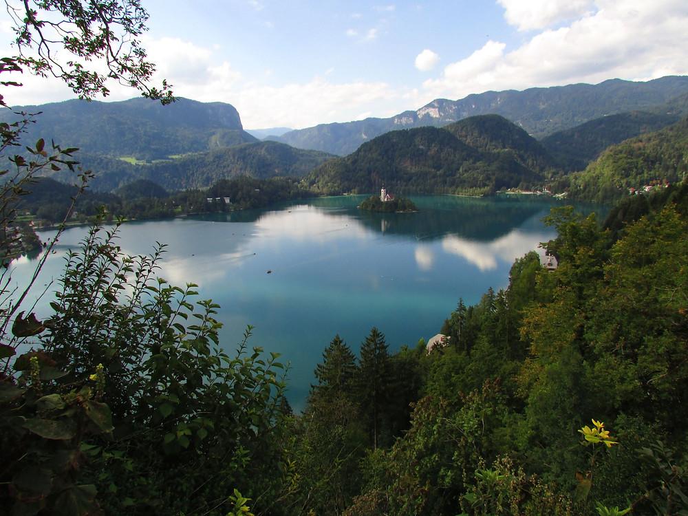 Jezero Bled. Foto Z. Beneš