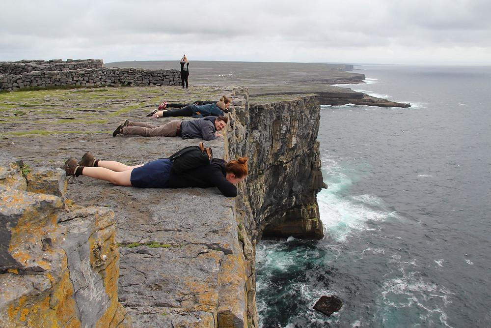 Ostrov Inis Mór, pevnost Dún Aonghasa (Irsko)