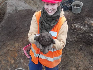 Archeoložkou skrz naskrz aneb jak vypadá mateřská dovolená zaměstnankyň UAPPSČ