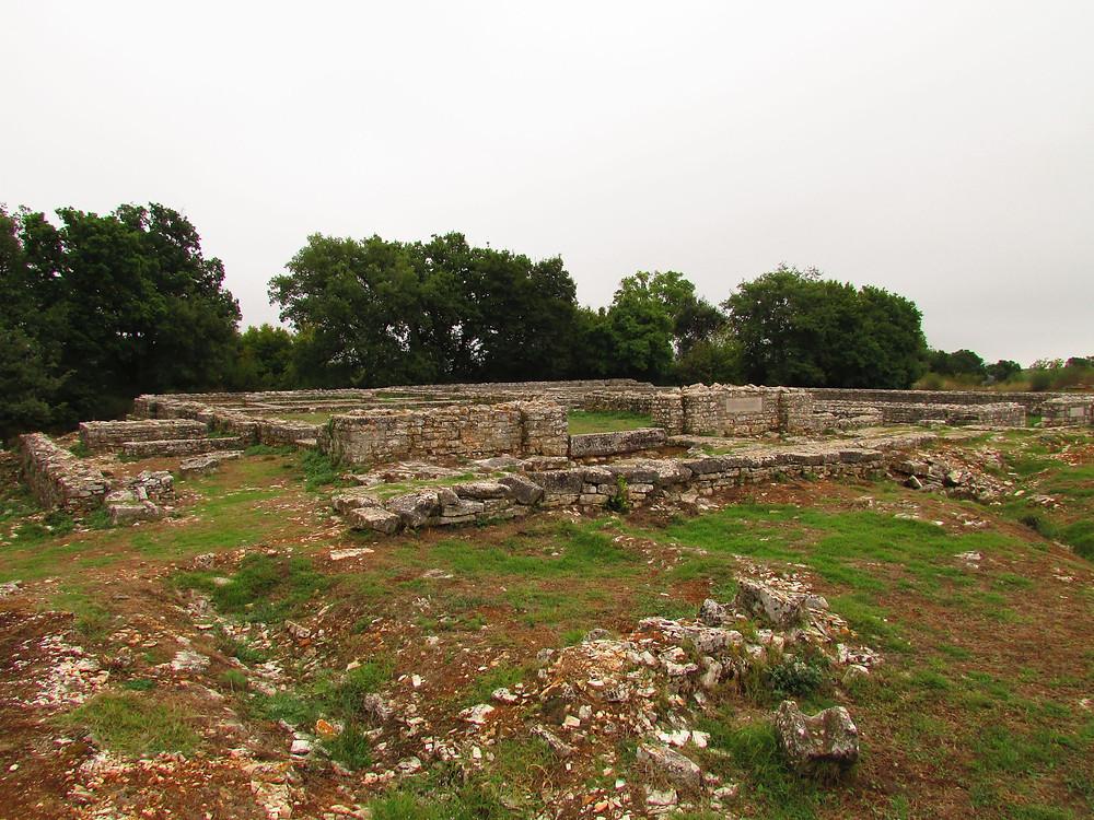 5.Ruiny antického města Nesactium. Foto Z. Beneš