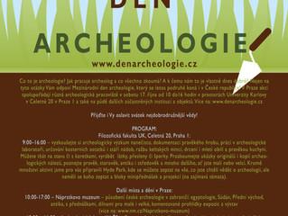 Vychutnejte si druhý český Mezinárodní den archeologie!