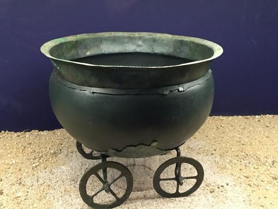 Bronzový vozík (milavečská kultura)