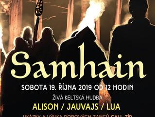 Oslavte s námi Samhain na zámku Nižbor